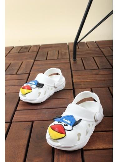 Oksit Sandalet Beyaz
